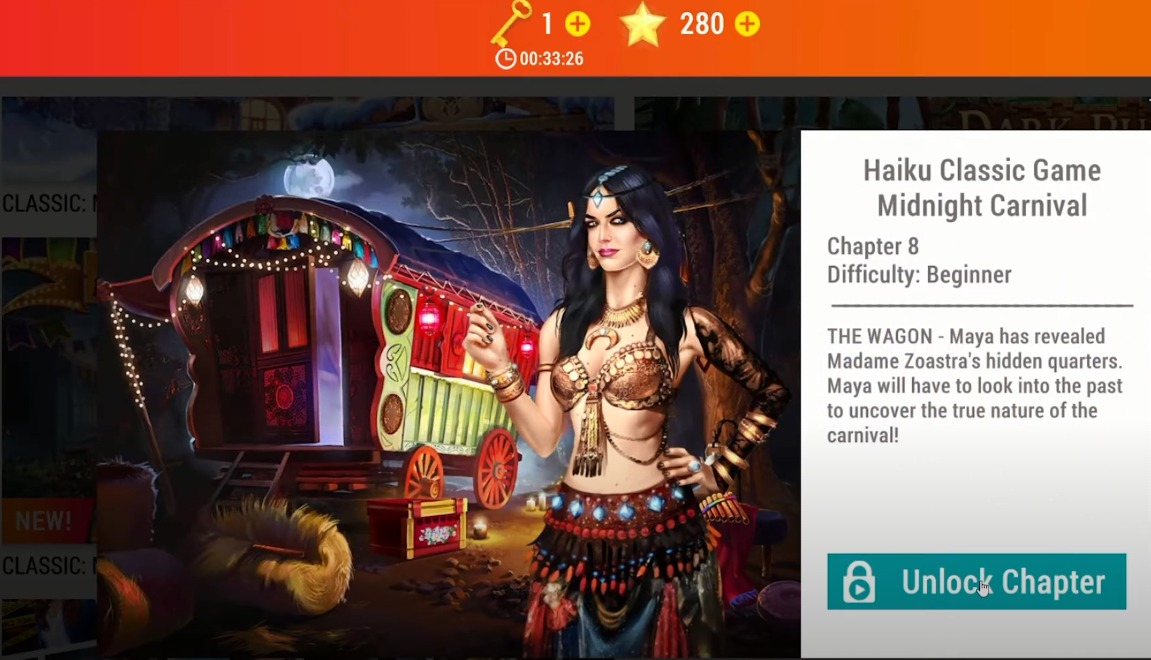 Adventure Escape Mysteries: Midnight Carnival Chapter 8 Walkthrough