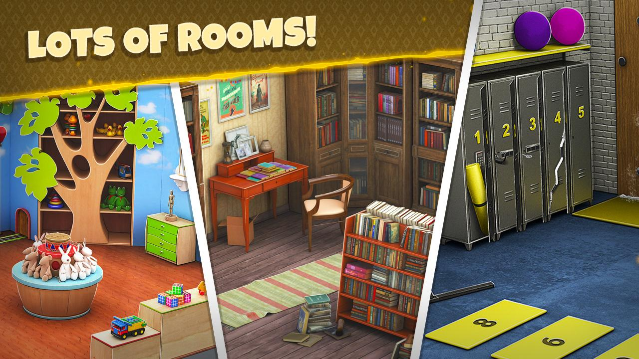 Rooms and Exits Level 8 Walkthrough