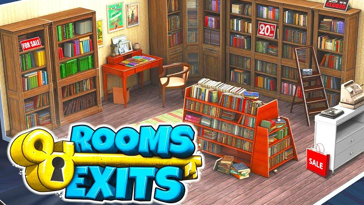 Rooms and Exits – Escape Games Walkthrough
