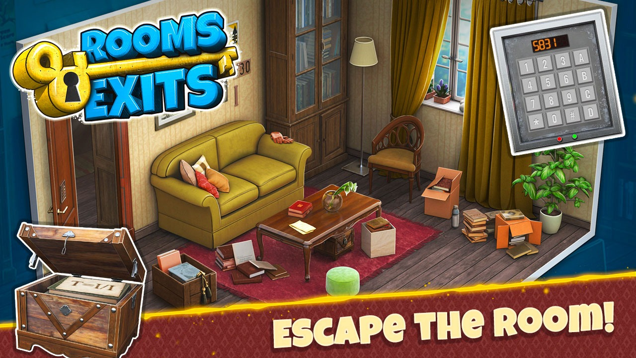 Rooms and Exits Walkthrough Level 3