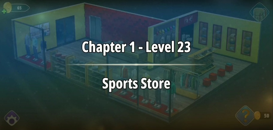 Rooms and Exits Level 23 Walkthrough