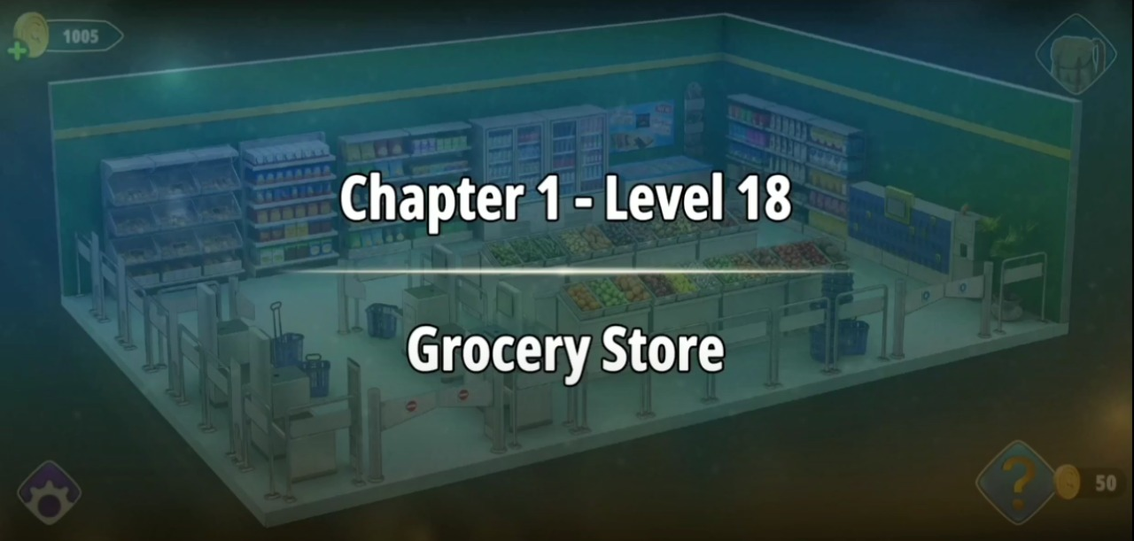Rooms and Exits Level 18 Walkthrough