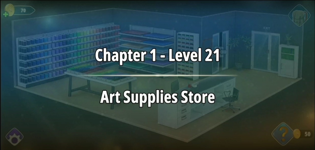 Rooms and Exits Level 21 Walkthrough