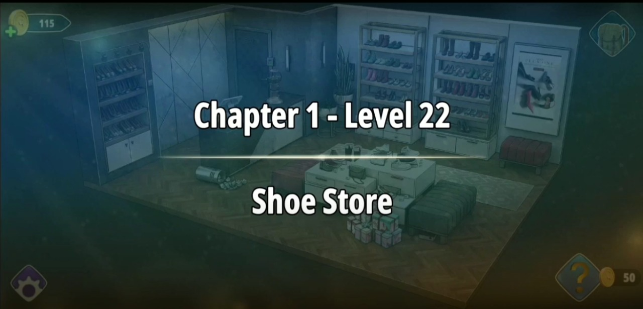 Rooms and Exits Level 22 Walkthrough