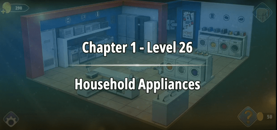 Rooms and Exits Level 26 Walkthrough
