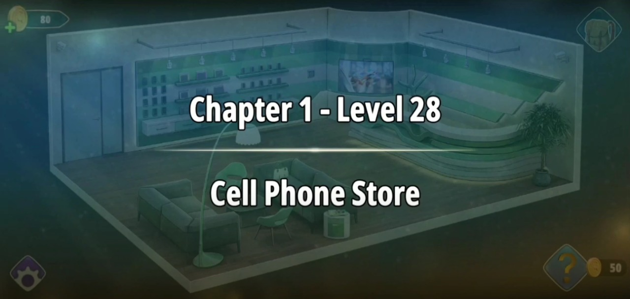 Rooms and Exits Level 28 Walkthrough
