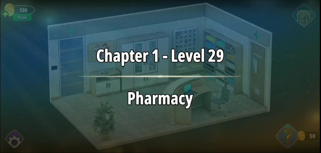 Rooms and Exits Level 29 Walkthrough